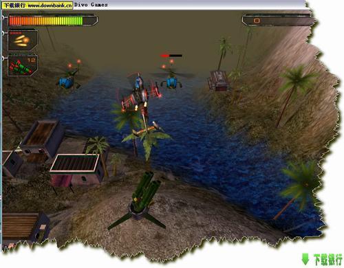 空中霸王II海灣戰爭_經典3D飛行射擊游戲_綠色特別版