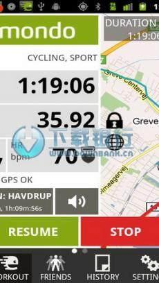 運動追蹤器(Endomondo Sports Tracker) V11.4.4  for android 中文免費版