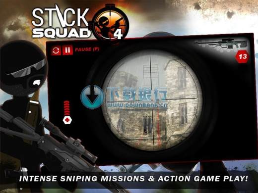 生死狙擊4 (Stick Squad 4) v1.0.4 for android 無限金幣版