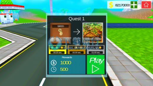越野卡車駕駛安卓版 v1.06 for android 無限金幣版