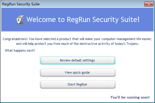 RegRun Gold(系统安全保护工具下载) v8.70.0.570 绿色免费版