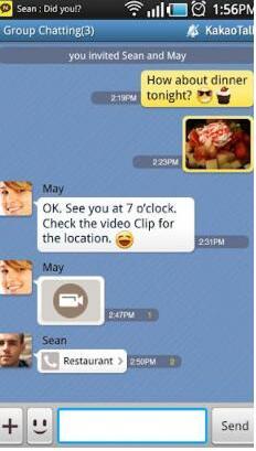 KakaoTalk Messenger安卓版(基于电话号码的短信信使服务) V6.1.6 手机版