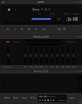 Qmmp音乐播放器图片1