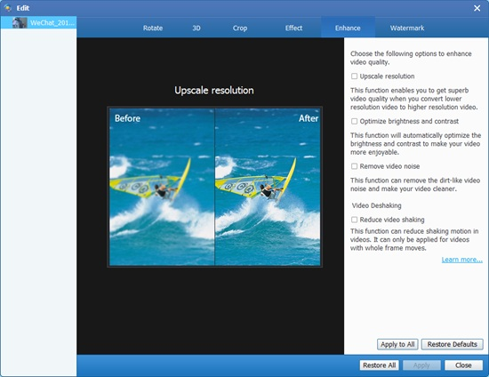 Tipard Video Enhancer图片4