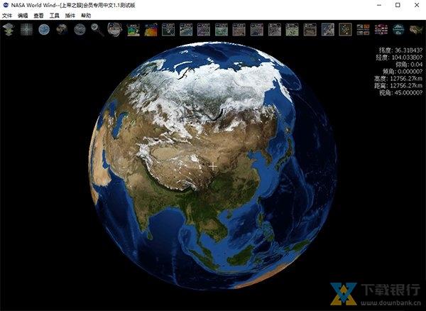 NASA World Wind图片